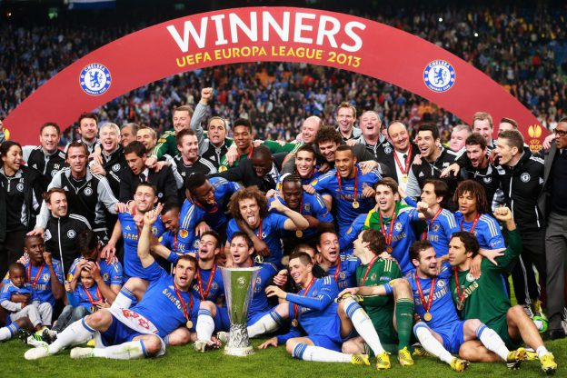 Chelsea FC Europa League Win