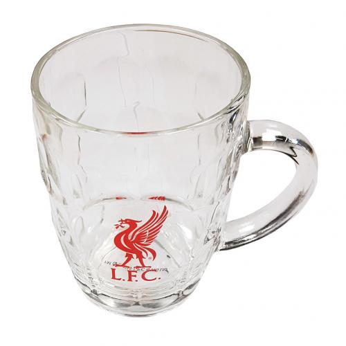 Liverpool Fc Tankard Pint Glass Lfc Merchandise