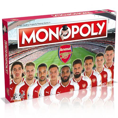 Arsenal FC Monopoly | Games | Merchandise | AFC Football Gifts