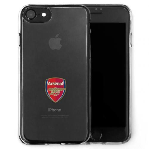 Arsenal FC Transparent iPhone 7 /8 Case / Cover | AFC Merchandise