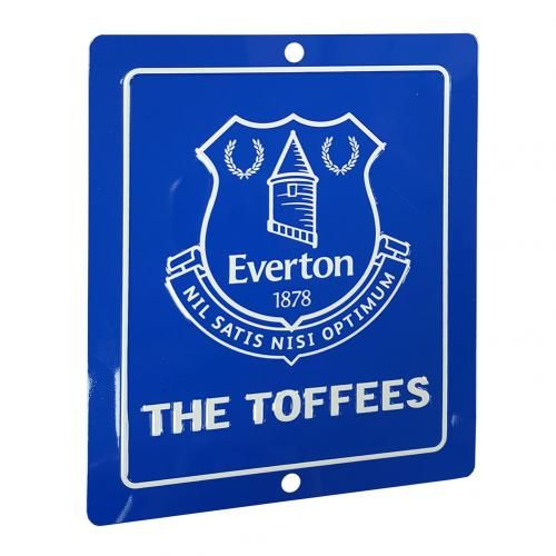 Everton Window Sign SQ | Football Gifts Online