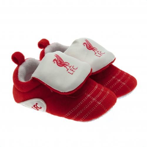 Liverpool Fc Baby Crib Shoes 3 6 Months Lfc Football Gifts