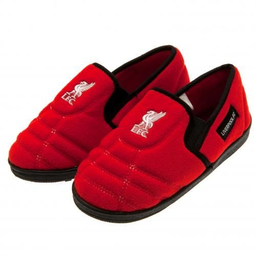 Liverpool Fc Children S Slippers Size 3 4 Lfc Football Gifts