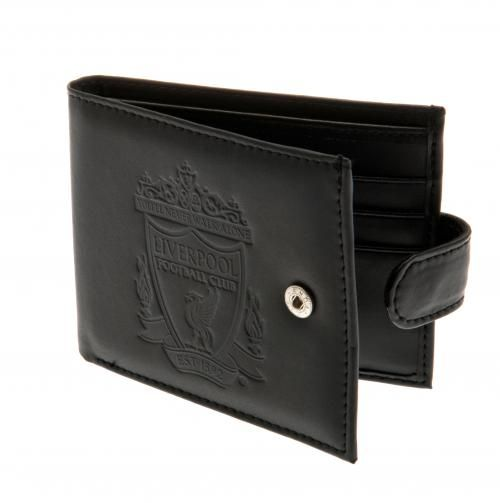 Liverpool Fc Leather Wallet Gifts For Men Football