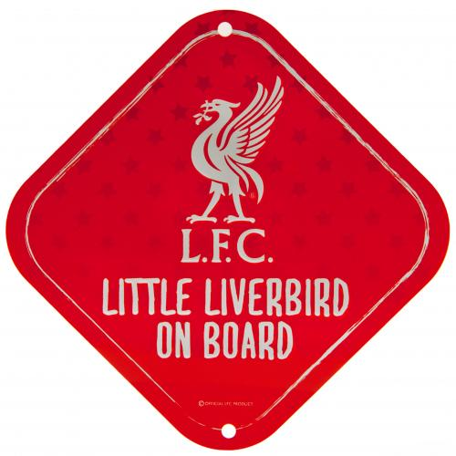Liverpool Fc Little Dribbler Baby On Board Sign