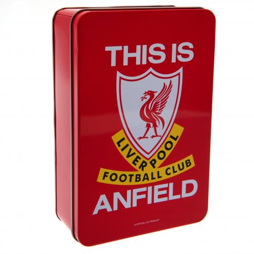 Metal Liverpool FC Tin | LFC Merchandise [ Online Football Gifts Shop ]