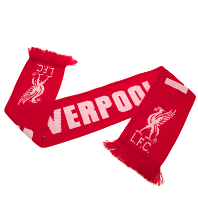 Liverpool Fc Club Scarf Liverpool Fc Gifts Shop