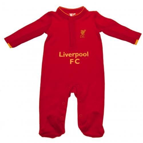 Liverpool Fc Sleepsuit 3 6 Months Liverpool Baby Clothes