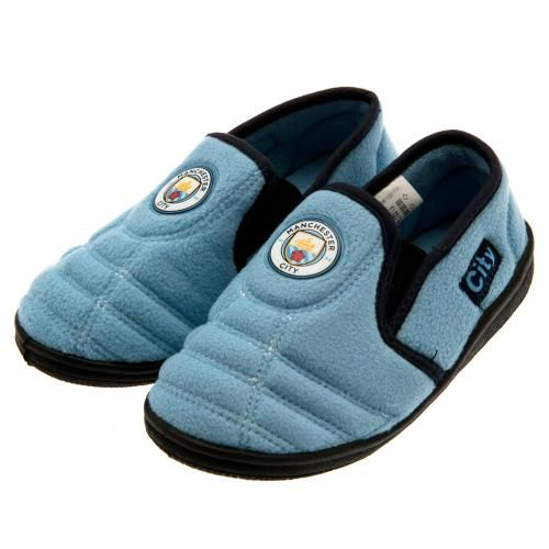 Manchester City Children S Slippers Size 5 6 Mcfc