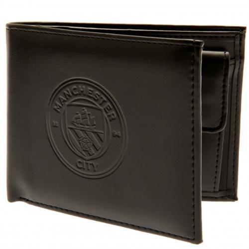 Manchester City Wallet | Presents for Men | MCFC Football Gifts  | Merchandise
