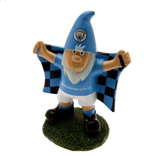 Manchester City Gnome | MCFC Merchandise [ Novelty Football Gifts Shop ]