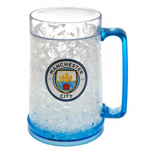 Manchester City Plastic Freezer Tankard | Man City Football Gifts