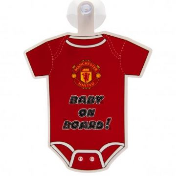 Me And Dad Love MAN UNITED Baby Vest Grow Clothes Bodysuit Top Size Boys Girls