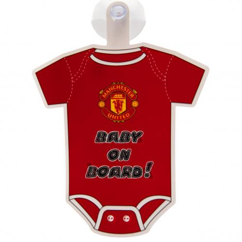 Manchester United Baby On Board Sign Man United Baby Gifts