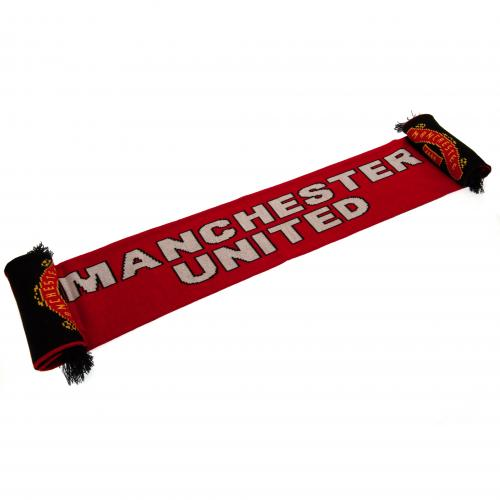 Manchester United Scarf ST | MUFC Merchandise [ Football Gifts Shop ]