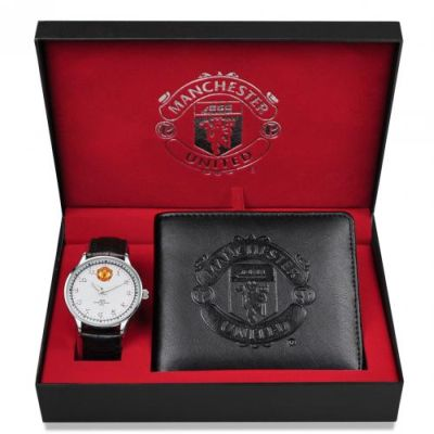 Manchester United Watch Amp Wallet Gift Set